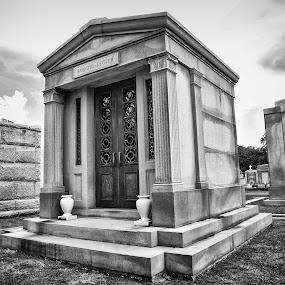 Metairie Cemetery by Tiffany Matt - City,  Street & Park  Cemeteries