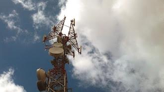 Antenas de tecnología 4G instaladas en la provincia.