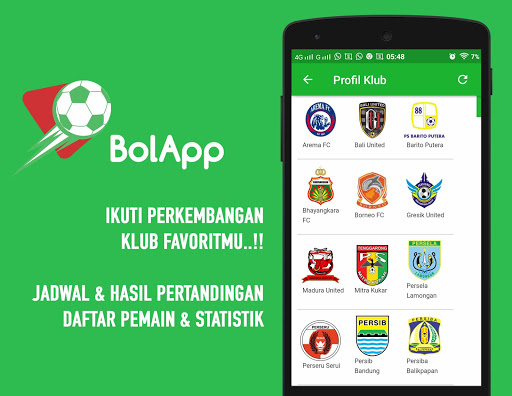 BolApp - Liga Indonesia / Gojek Traveloka Liga 1 2.5 screenshots 3
