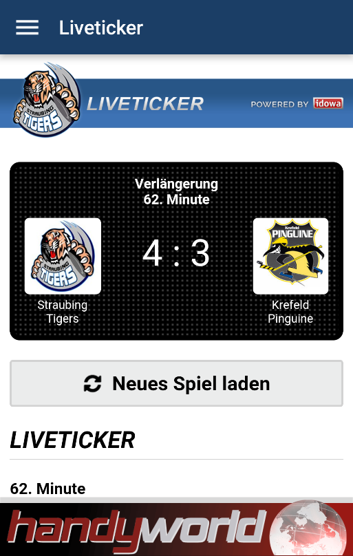 Straubing Tigers- screenshot