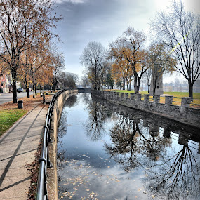 Lachine Canal Quebec Canada 5 by Costas Tsirgiotis - Landscapes Travel