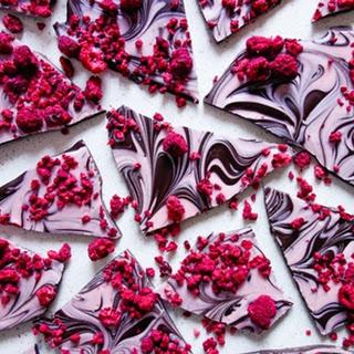 Raspberry Swirl Chocolate