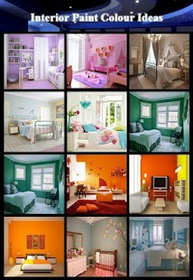 Interior Paint Colour Ideas - náhled