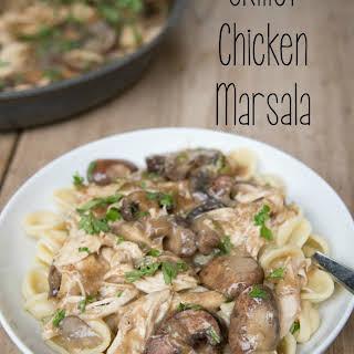 Skillet Chicken Marsala.