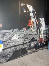 Photo: Lunar footprints