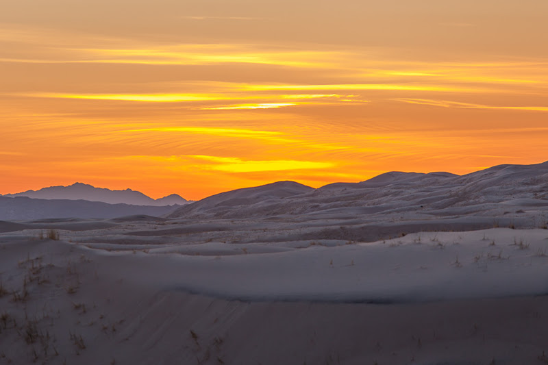 Photo: Kelso Dunes sunset March 2010