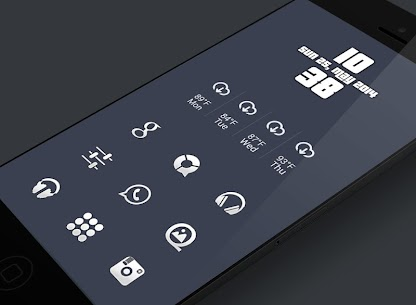 Plain – Icon Pack v5.0.2 [Patched] APK 3