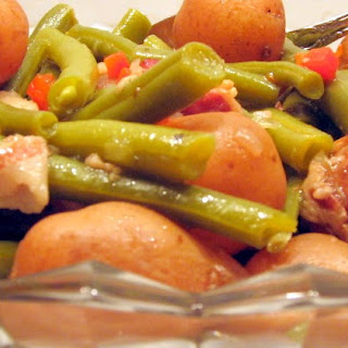 Fresh Green Beans and New Potatoes
