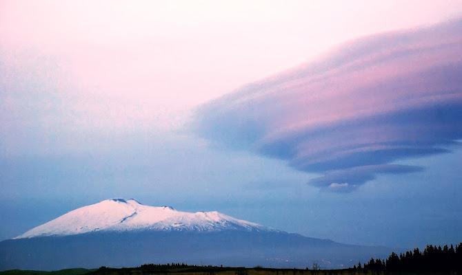 Etna e nuvola di Francbaudo