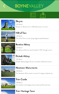 Boyne Valley App- screenshot thumbnail