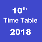 Tamilnadu 10th Time table 2018 & Result