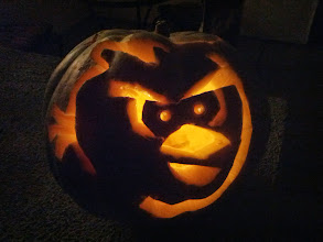 Photo: Clark's Pumpkin (Carved by Daddy)