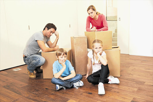 Evaluate the pros and cons of moving to another country. Though it is stressful, a split family is not an ideal dynamic
