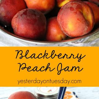 Blackberry Peach Jam