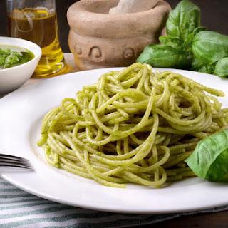 Easy Pasta Recipe With Classic Basil Pesto