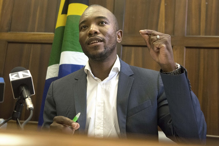 Democratic Alliance leader Mmusi Maimane. Picture: TREVOR SAMSON