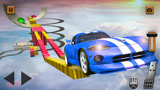 Impossible Tracks Car Mountain Climb Stunts Racing screenshot 3