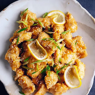 Chinese Lemon Chicken.
