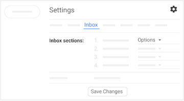 Reorder inbox sections