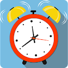 Annoying alarm clock - wake me up icon