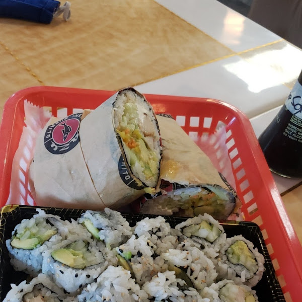 Photo from Kazu Sushi Burrito