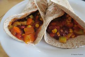 Wraps met chili sin carne (Le petit requin)