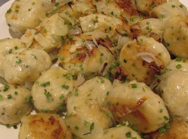 When fully cooked. Remove from skillet to a platter, add additional chopped chive if...