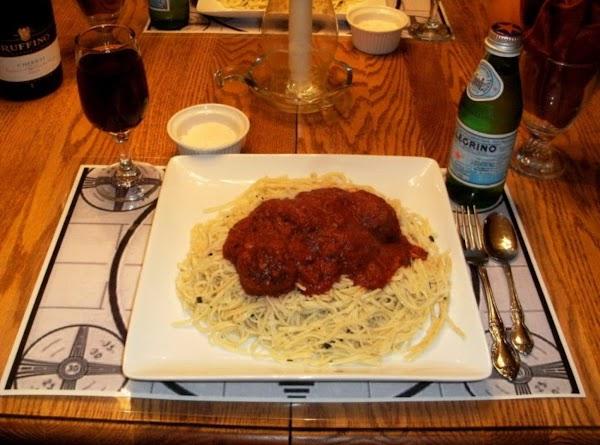 Spaghetti And Meatballs All'amatriciana Recipe
