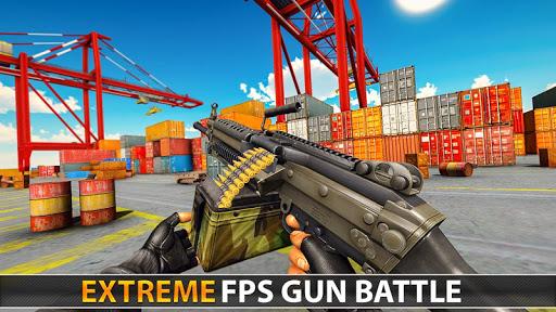 Police Counter Terrorist Shooting - FPS Strike War apkpoly screenshots 17