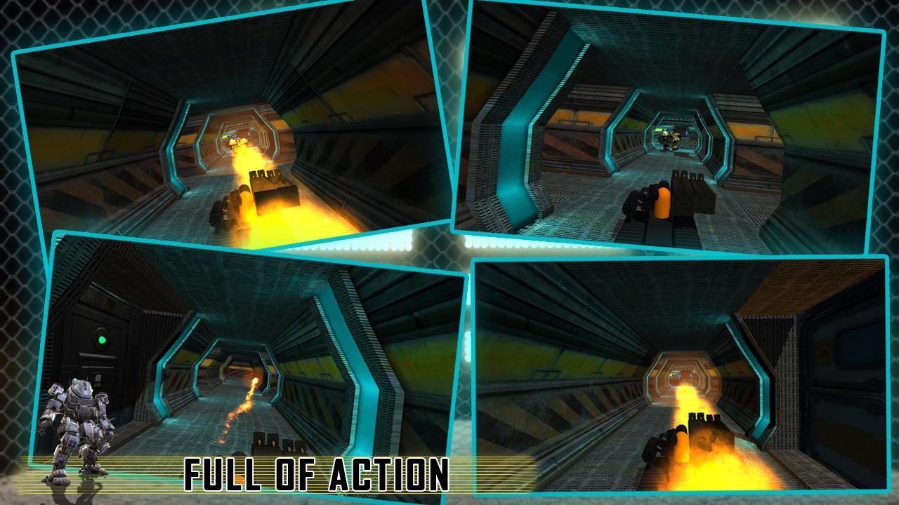 Bots Future War 3D- screenshot