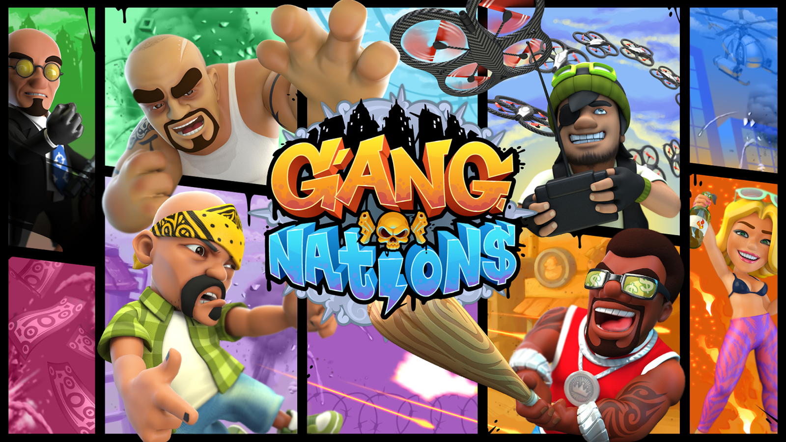 Gang Nations- screenshot