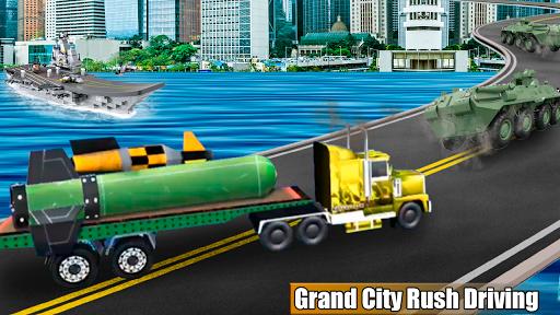 Bomb Transporter Sim - City Truck Game 1.0 screenshots 4