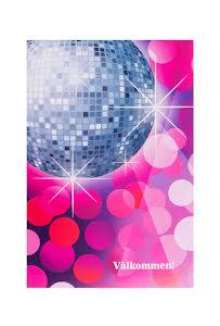 Disco, inbjudningskort