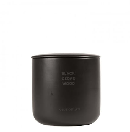 Victorian Candle Black Cedarwood 55h