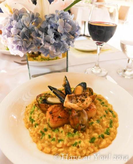 Chilean Seafood Risotto