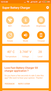 Super battery charger for PC-Windows 7,8,10 and Mac apk screenshot 2