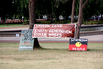 Photo: Year 2 Day 227 - A Few More Banners at the Tent Embassy