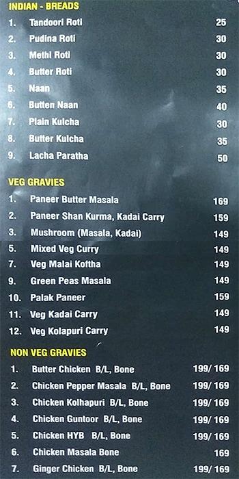 Amrutha Grand Restaurant menu 2