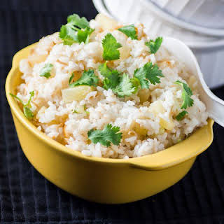 How to Make Pineapple Coconut Rice.
