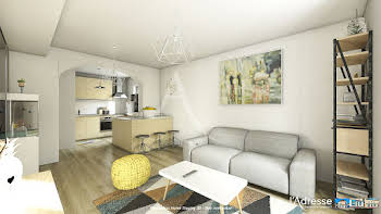 Appartement 2 pièces 37,48 m2