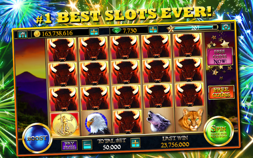Slotsu2122 Buffalo King - Free Casino Slot Machines 5.6 screenshots {n} 6