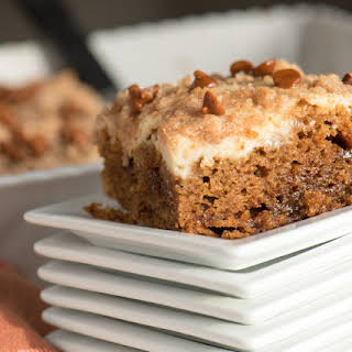 Cinnamon Pumpkin Coffee Cake.