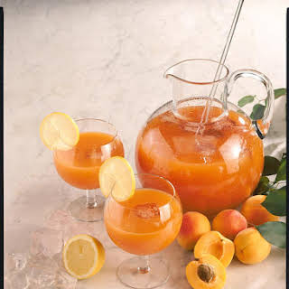 Fruity Apricot Drink.