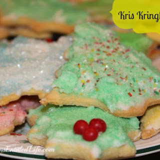 Kris Kringle Cookie and Frosting