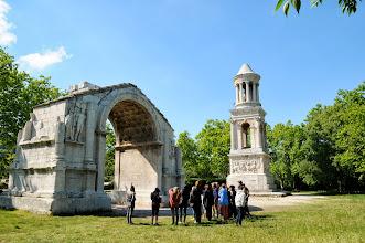 Photo: Les etudiants at Les Monuments