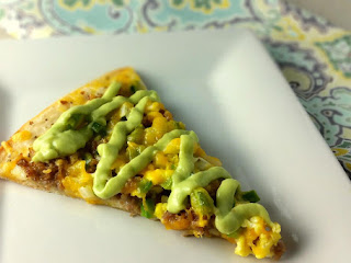 Southwest Breakfast Pizza Recipe