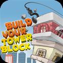 Build Pixel Block Tower icon