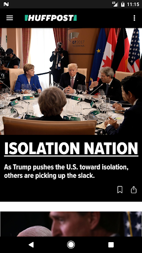 HuffPost - News Screenshot