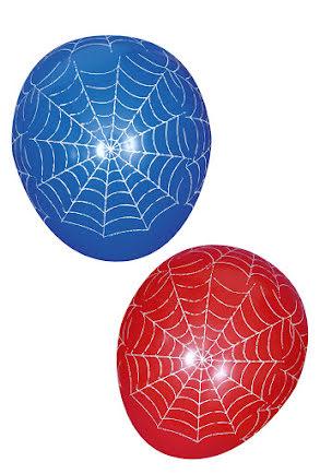 Spindelnätsballonger, 6 st