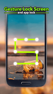 Gesture Lock Screen and App Lock - náhled